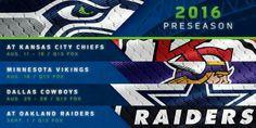 Seattle Seahawks 2016 preseason schedule