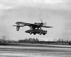 Convair Model 118, a Flying Automobile