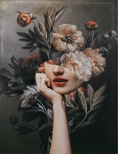 I present a series of handmade collages, where i focus on the idea of temporariness of the visual aesthetics. For this i choose vintage flowers Collage Portrait, Collage Art, Flower Collage, Collages, Collage Photo, Collage Design, Surealism Art, Bel Art, Photographie Portrait Inspiration