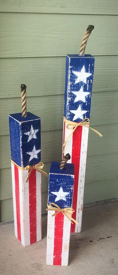 Front porch Decor Rustic home decor patio decor fourth of July fourth of July Decor flag decor patriotic decor holiday decor Fourth Of July Decor, 4th Of July Decorations, 4th Of July Party, July 4th, Holiday Decorations, Patriotic Crafts, July Crafts, Summer Crafts, Holiday Crafts