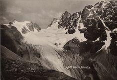 Glacier Silvretta Mount Everest, Mountains, Nature, Travel, Painting, Art, Art Background, Naturaleza, Viajes