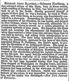 Here's the original story that 12 Years a Slave was based on, published in The Times on February 12, 1853. http://query.nytimes.com/mem/archive-free/pdf?res=9E03EEDC1438E334BC4851DFB7668388649FDE&smid=nytimesarts https://twitter.com/erika_asahi/status/440998555851833344