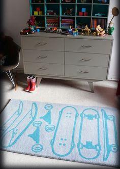 Alfombras para decorar habitación infantil de Leçons de choses. Mamidecora