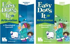 Speech Therapy Tools: LinguiSystems: Easy Does It for Articulation A Pho. Speech Pathology, Speech Language Therapy, Speech And Language, Speech Therapy, Phonological Disorder, Phonological Processes, Great Sentences, Word 365, Therapy Tools