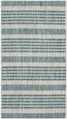 Safavieh Courtyard Collection CY8062-37212 Grey and Blue Indoor/ Outdoor Area Rug (2' x 3'7') * You can find out more details at the link of the image. (This is an affiliate link and I receive a commission for the sales)