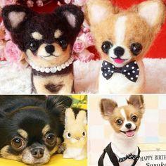 @obuchichan さんからのオーダーです★ * 姫ちゃんと佐助くんです♡ パールのネックレスと蝶ネクタイでキマってますね(≧∇≦*)♪ * Instagramに載ってるワンコ達を見ていると、みんな大事に愛されてて幸せな気持ちになります。 この子達もそう。(*^^) * 世界中のワンコが幸せになりますように。。☆彡 * #わんこ服#犬#ペット服#手作り#ペット#オシャレ#お洋服 #羊毛フェルト#クッション#オーダーメイド#ハンドメイド#わんこ#ウェディング#愛犬#マスコット#幸せ#雑貨#嵐#関ジャニ#可愛い#プレゼント企画#チワワ#プードル#マルチーズ#フレンチブルドック#パピヨン#ポメラニアン#シーズー#ヨーキー