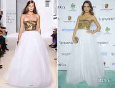 Jessica Alba In Andrew Gn – 2014 Baby2Baby Gala