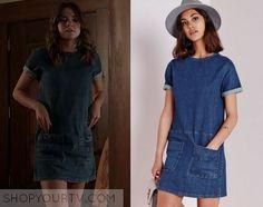 The Fosters: Season 3 Episode 13 Callie's Denim Shirt Dress
