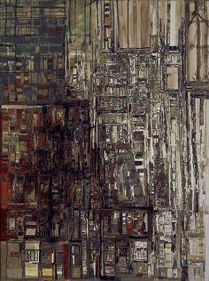 helena vieira da silva quarto de azulejos
