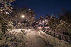 Parcul Morarilor by Cipgallery on DeviantArt Trotter, Four Seasons, Winter Wonderland, Globe, Snow, Deviantart, Christmas, Outdoor, Park