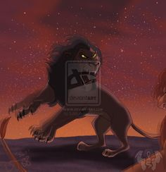 Scar vs Simba by on deviantART Scar Lion King, Lion King Fan Art, Lion King Simba, Disney Lion King, Photo To Cartoon, Cartoon Pics, Disney And More, Disney Fun, Disney Ideas