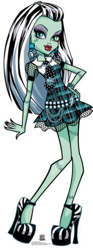 Monster High - Frankie Stein Stand Up at AllPosters.com