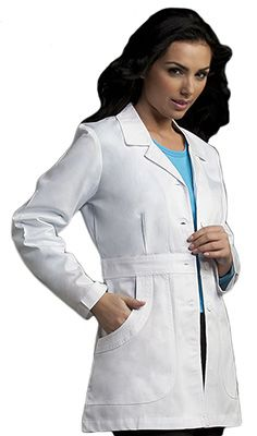 """31"""" Lab Coat by Med Couture; I CAN'T WAIT UNTIL I CAN WEAR ONE EVERY SINGLE DAY :D"""