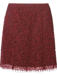 Shop Carven lace A-line skirt in Elite from the world's best independent boutiques at farfetch.com. Over 1000 designers from 60 boutiques in one website.