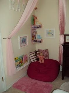 reading nook for my daughter