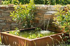 Wershofen Garten Design, Trockenmauer & Wasser , ´12