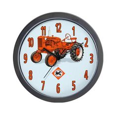 Allis Chalmers B Wall Clock: Boyfriend's Christmas gift