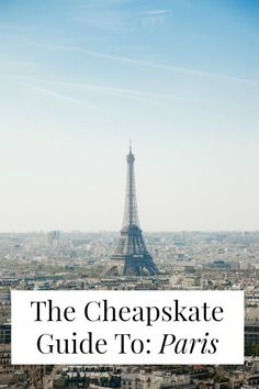 Can Paris be cheap? It can be if you read this travel guide from an American expat and her French boyfriend! Click through for $21 Airbnbs, three course meals for $9.50, and free museums and galleries! >> http://yesandyes.org