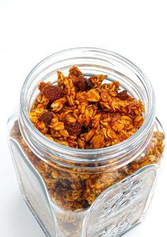 granola z dynią Granola, Almond, Eat, Blog, Almond Joy, Blogging, Muesli, Almonds