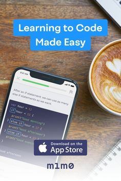 Learn to code on your phone – whenever and wherever you have a minute!