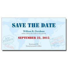 Pport Save The Date Bar Mitzvah Card With Magnet Bars Invitations