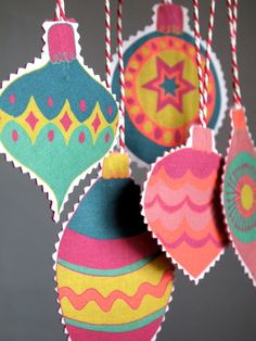 3 Packs of Fabric Christmas Baubles - £16.50
