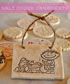 Kate's Kitchen: Salt Dough Ornaments