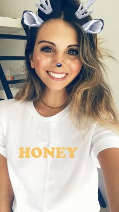 HONEY T-Shirt ****************************************************************** • Available in: • Bella + Canvas® Boyfriend Tee (Unisex Sizing): Women may prefer to order a size down. ♡ If you love the classic boyfriend tee fit, this shirt is for you! It is incredibly soft & very