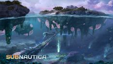 Subnautica screenshots, soundtrack, videos, concept art, and more. Subnautica Creatures, Fantasy Creatures, Landscape Concept, Fantasy Landscape, Landscape Design, Fantasy World, Fantasy Art, Subnautica Concept Art, Underwater City