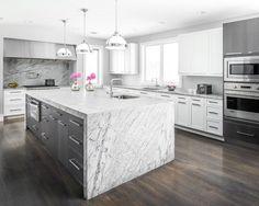 white grey kitchen enclosed kitchen design ideas remodels styling kitchen colorful props break grey