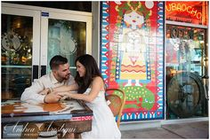 Destination Wedding Photographer Andrea Arostegui Country Rustic Engagement Session Calle Ocho Cuban Inspired Session_0103