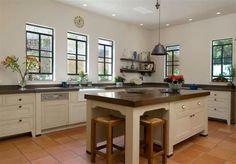 White Kitchen With Terracotta Floor My Dream House