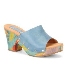 Turquoise Helen Slide