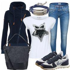 Freizeit Outfits: BlueStar bei FrauenOutfits.de