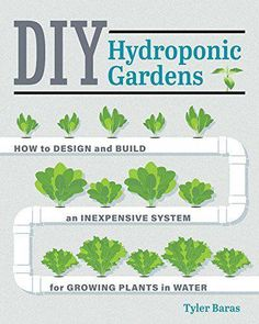 Hydroponic Gardening DIY Hydroponic Gardens: How to Design and Build an Inexpensive System for Growing Plants in Water Aquaponics System, Hydroponic Farming, Hydroponic Growing, Growing Plants, Aquaponics Diy, Indoor Hydroponics, Vertical Hydroponics, Hydroponic Vegetables, Planting Plants