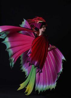 2009 Winner Untouched World WOW Factor Award    Firebird, Susan Holmes, Auckland