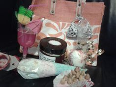 From my friend to me a handmade pamper hamper