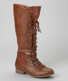 Love this TOP MODA Tan Coco Boot by TOP MODA on #zulily! #zulilyfinds