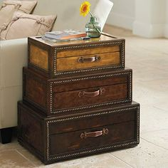 Voyager Chest from grandinroad.com