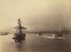 North Shields in August 1884 - the opening of the Albert Edward dock | Flickr - Photo Sharing!