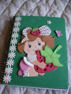 caderno da moranguinho