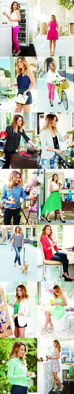Lauren Conrad Spring 2013 Look Book...I would like all of this please.