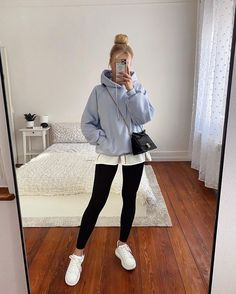 Casual Winter Outfits, Uni Outfits, Trendy Fall Outfits, Neue Outfits, Sporty Outfits, Winter Fashion Outfits, Classy Outfits, Everyday Outfits, Girl Outfits