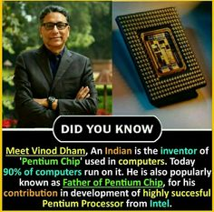 Did you know that he is also known as the father of the platinum chip. Wow Facts, Real Facts, Wtf Fun Facts, Funny Facts, Wierd Facts, Random Facts, Random Things, Random Stuff, Interesting Science Facts