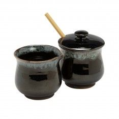 Midnight Frost Condiment Set