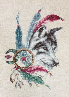 De Wolf - borduurpakket - Luca-s