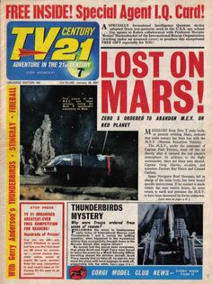 Classic Sci Fi, Classic Comics, Pulp Fiction, Science Fiction, Thunderbirds Are Go, Sci Fi Tv, Special Agent, Back In The Day, Cover Art