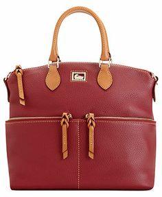 Dooney & Bourke Handbag, Dillen II Double Pocket Satchel