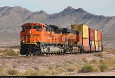 RailPictures.Net Photo: BNSF 8552 BNSF Railway EMD SD70ACe at Mojave Desert, California by Matthew Griffin