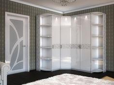 17990 = АДЕЛЬ (БЕЛЛА); шкаф угловой (арт. 06.108) от набора мебели для спальни